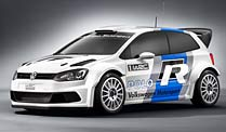 VW Polo: 300 PS starke Rallye-Version. VW Polo R WRC (Foto: Volkswagen Motorsport)
