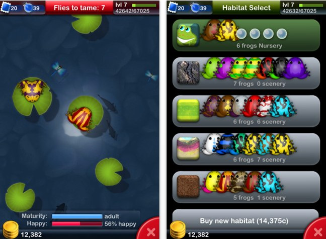 Top-Games für das iPhone: Pocket Frogs (Bild: Medienagentur plassma)