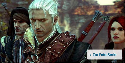 """The Witcher 2"": Namco-Bandai verklagt CD Projekt. The Witcher 2 Action-Rollenspiel für PC (Bild: Namco Bandai)"