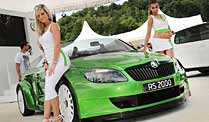 Skoda Fabia RS 2000: Roadster am Wörthersee. Skoda Fabia RS 2000 (Foto: United Pictures)
