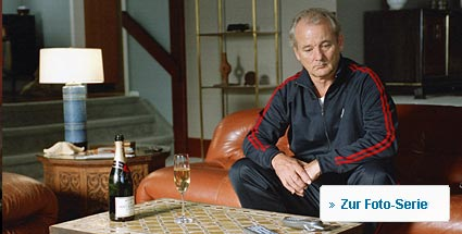 "Mit Bill Murray und ""Broken Flowers"" filmreif in die Midlife-Crisis (Foto: Tobis/Cinetext)"