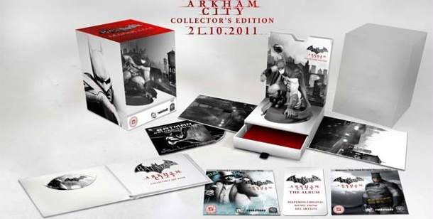 Batman: Arkham City - Collector's Edition aufgetaucht. Batman: Arkham City (Quelle: Warner Bros.)
