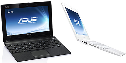 Asus Eee PC X101: Netbook mit MeeGo-Betriebssystem (Quelle: Hersteller\Asus)