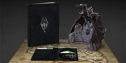 """The Elder Scrolls V: Skyrim"" - Collector's Edition vorgestellt. The Elder Scrolls V: Skyrim (Quelle: Bethesda)"