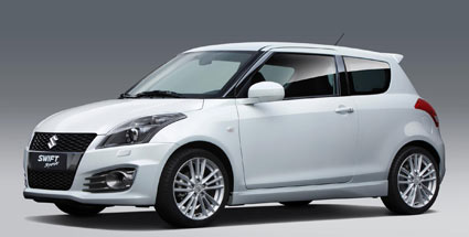 suzuki swift sport kommt mit 136 ps. Black Bedroom Furniture Sets. Home Design Ideas