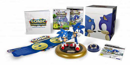 """Sonic Generations"": Sega kündigt ""Collector's Edition"" an. Sonic Generations Collector's Edition Jump'n'Run-Spiel von Sega (Quelle: Sega)"