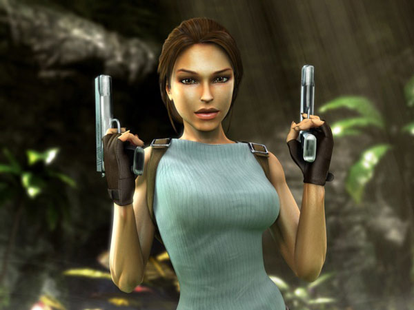 Emanzipation in Spielen: Lara Croft (Quelle: Eidos)
