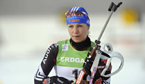 Magdalena Neuner ist der Star der deutschen Biathlon-Damen. (Quelle: imago)