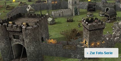 "Preview zum PC-Strategiespiel ""Stronghold 3"". Stronghold 3 (Quelle: Firefly Games)"