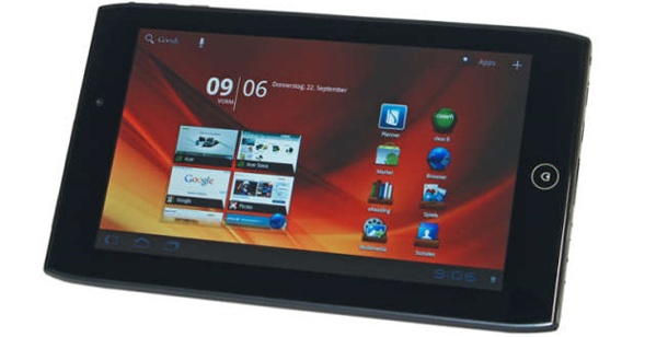 Acer Iconia Tab A100: Test Tablet-PC. Acer Iconia Tab A100 im Test (Foto: pcwelt)