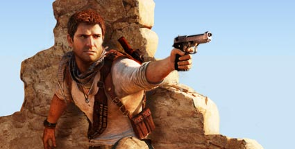 "Action-Adventure ""Uncharted 3"": Naughty Dog patcht Zielfunktion. Uncharted 3 (Quelle: Naughty Dog / Sony)"