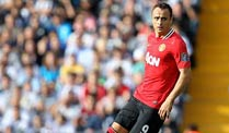 So sehen nicht nur englische Fans Dimitar Berbatow bei Manchester United am liebsten. (Quelle: imago)