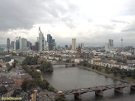 Webcam Skyline Frankfurt am Main. (Screenshot: t-online.de) (Quelle: Hersteller)