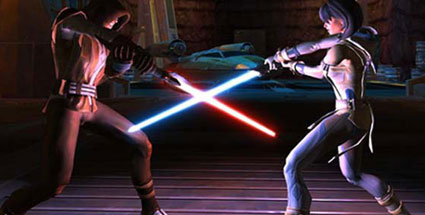Star Wars: The Old Republic (SWTOR) - EA nennt Verkaufszahlen. Star Wars: The Old Republic (Quelle: Bioware)
