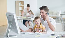 . Der Plan-B-Vater. (Quelle: Thinkstock by Getty-Images)