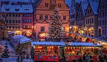 Weihnachtsmarkt in Rothenburg ob der Tauber (Foto: Rothenburg Tourismus Service, Fotograf: W. Pfitzinger)