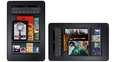 Amazon Kindle Fire im Test: 7-Zoll-Tablet-PC für nur 199 Euro. Amazon Kindle Fire im Test