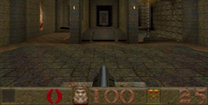 Ego-Shooter Quake vom Index gestrichen. Ego-Shooter Quake (Quelle: id Software)