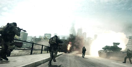 Battlefield 3: Back to Karkand-DLC ab dem 6. Dezember für PS3. Battlefield 3: Back to Karkand (Quelle: Electronic Arts)