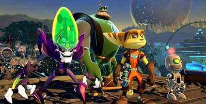 Spieletest zum Jump'n'Run-Spiel Ratchet & Clank: All 4 One für PS3 von Sony. Ratchet & Clank: All 4 One (Quelle: Sony)