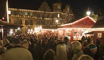 Weihnachtsmarkt in Dsseldorf (Foto: imago)