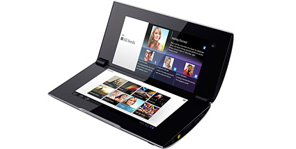 Sony Tablet P: Test Android Tablet-PC 2 x 5,5 Zoll. Sony Tablet P im Test  (Quelle: Hersteller)