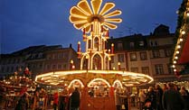 Weihnachtsmarkt in Heidelberg (Foto: dpa)