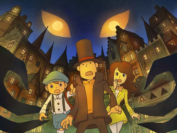 Professor Layton und der Ruf des Phantoms (Quelle: Level 5)