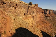 Mountainbiker am White Rim Trail. (Quelle: SRT /Norbert Eisele-Hein)