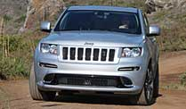 Jeep Grand Cherokee SRT-8: Wilder Westen inklusive. Jeep Grand Cherokee SRT-8 (Foto: Press-Inform)