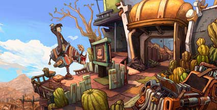 """Deponia"": Adventure in der Betatest-Phase. Deponia (Quelle: Daedalic Entertainment)"