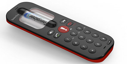 CES 2012: Notfallhandy SpareOne soll 15 Jahre ohne aufladen halten. Notfallhandy SpareOne (Quelle: Hersteller)