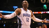 Magic-Star Dwight Howard bricht Rekord von Basketball-Legende. Orlando-Star Dwight Howard trägt sich in die Basketball-Geschichtsbücher ein. (Quelle: imago)