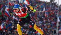 Biathlon: Birnbacher und Peiffer verpassen in Antholz das Podium. Präsentiert sich in Top-Form in diesem Weltcup-Winter: Andreas Birnbacher  (Quelle: Reuters)