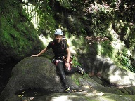 Canyoning auf Guadeloupe: Tour-Guide. (Quelle: SRT )