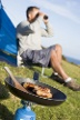 Campingkocher mit Gaskartusche. (Quelle: Thinkstock by Getty-Images)