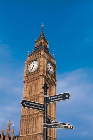 Platz 15: Big Ben in London. (Quelle: Thinkstock by Getty-Images)