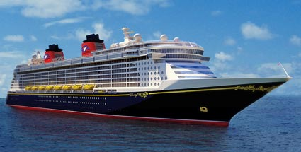 Disney Fantasy: Kreuzfahrtschiff sticht in See. Die Disney Fantasy kreuzt bald in der Karibik (Quelle: Disney Cruises)