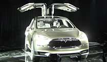 Tesla Model X: Das Elektro-SUV. Tesla Model X (Quelle: Press-Inform)