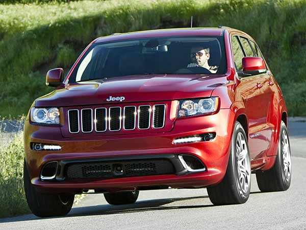 Neue Topversion: Jeep Grand Cherokee SRT8. (Quelle: Hersteller)