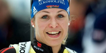 Magdalena Neuner bestimmte das Geschehen im Biathlon-Weltcup mageblich. (Foto: imago) (Quelle: imago)