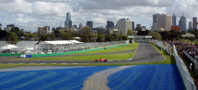 Der Albert Park in Melbourne (Quelle: imago)