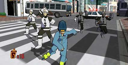 Jet Set Radio: Dreamcast-Klassiker für Xbox 360 und PS3. Jet Set Radio (Quelle: Sega)
