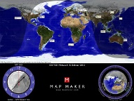 Map Maker Sun Clock (Quelle: t-online.de)