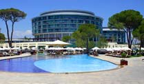 Hotelbewertungen: Strandhotels in der Türkei. Das Hotel Calista Luxury Resort in Belek. (Foto: Holidaycheck.de)