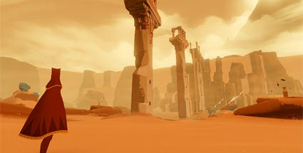 Test zum Indie-Game Journey für PS3. Journey (Quelle: Thatgamecompany / Sony)