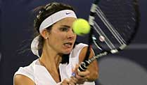 Tennis: Görges in Indian Wells weiter. In Indian Wells auf Kurs: Julia Görges. (Quelle: imago)