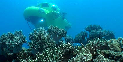 Great Barrier Reef Submarines: Touren durch das australische Riff im Mini-U-Boot. Mit dem U-Boot das Great Barrier Reef erkunden. (Quelle: Great Barrier Reef Submarines)