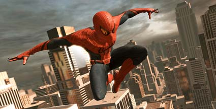Test The Amazing Spider-Man: Spinnenmausmann in Aktion. The Amazing Spider-Man (Quelle: Activision)