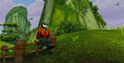 WoWt: Das bringt Mists of Pandaria an Neuigkeiten. Eine Pandarin im vierten World of Warcraft-Add-on Mists of Pandaria (Quelle: Blizzard)